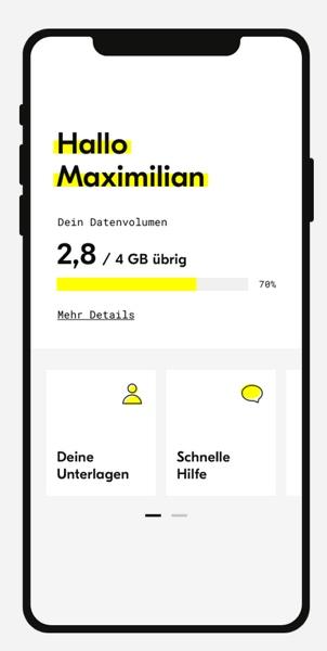 fraenk flat Telekom D Netz Handytarif