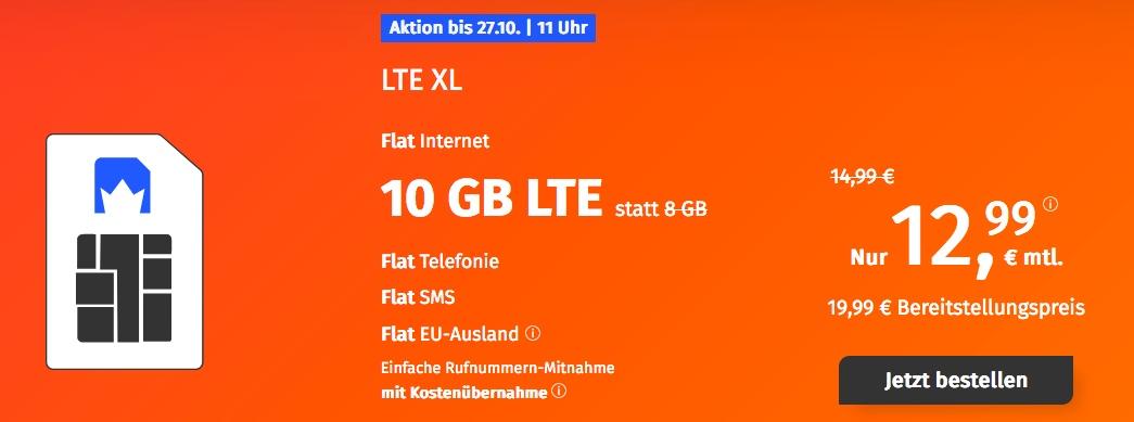 10 GB LTE Allnet Flat