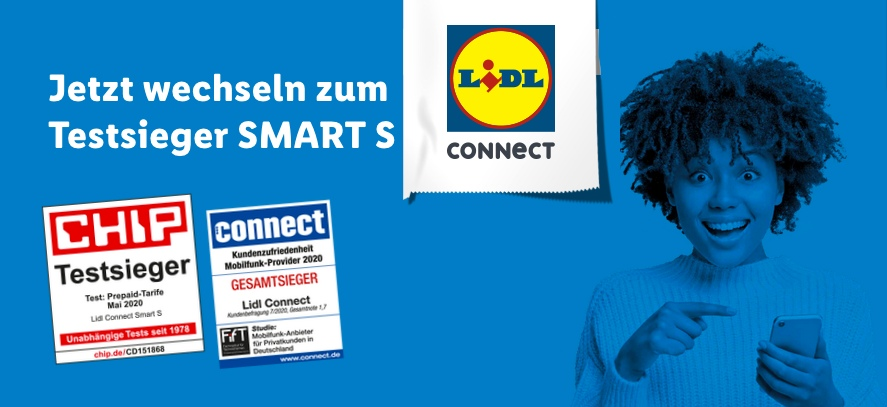 LIDL Connect vergleich Tarife