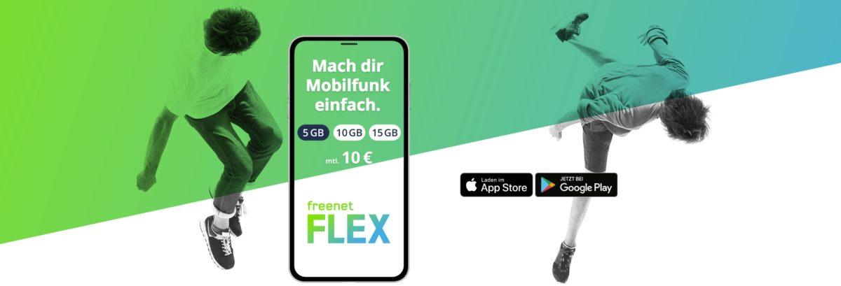freenet Flex Vodafone Netz günstig